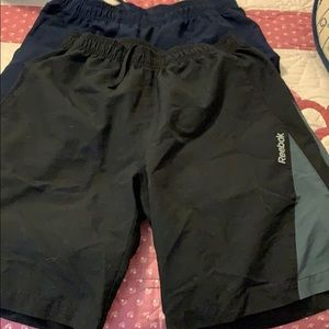 2 pairs Reebok athletic shorts size S